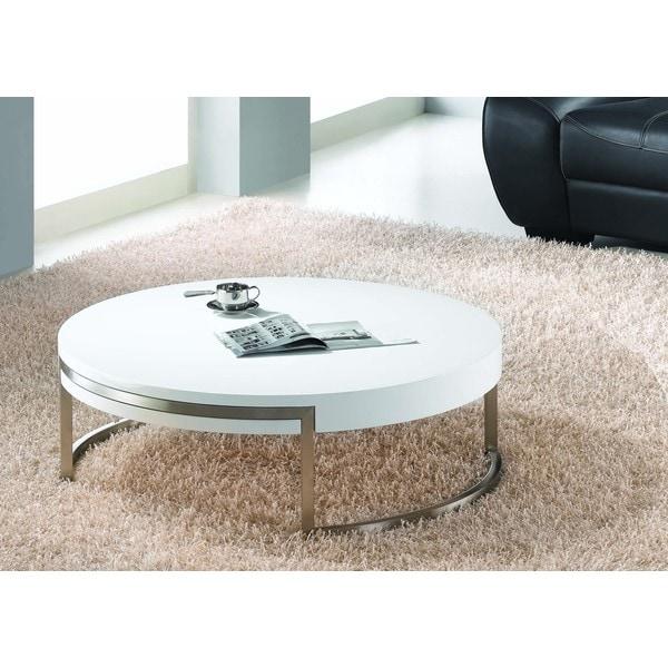 High Gloss White Coffee Table
