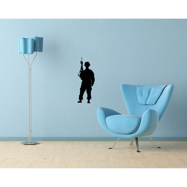 Soldier Vinyl Wall Decal