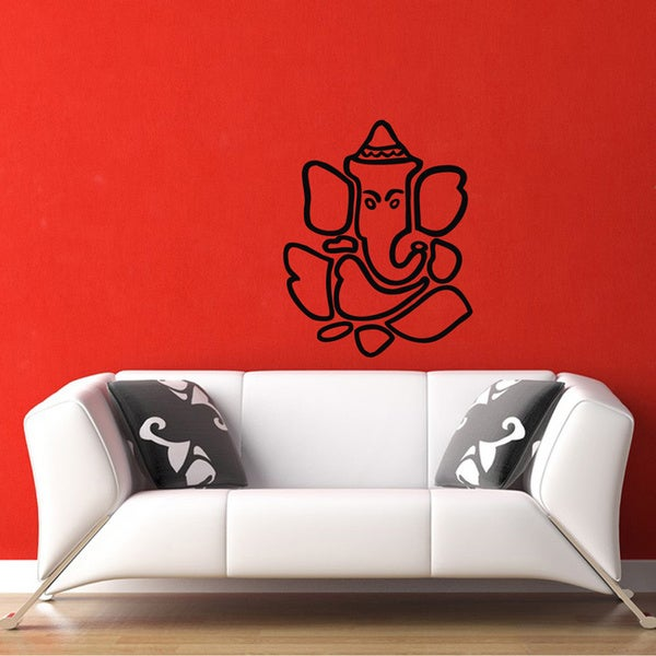 Ganesha Hindu Vinyl Wall Decal