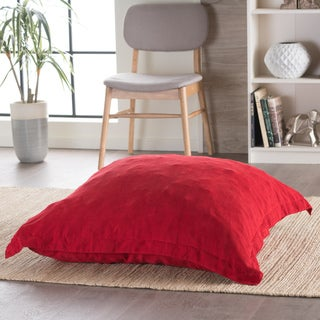Christopher Knight Home Abby Red Bean Bag Lounge Pillow