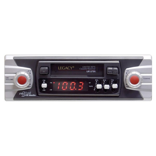 Legacy LR127SX Shafted AM/FM-MPX Stereo Cassette Receiver (Refurbished)