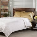Elle & Alix Satin Stripe Extra Warmth Pure Silk Filled Comforter