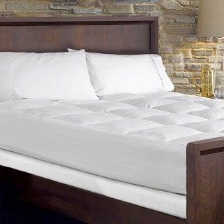 Hotel Grand Waterproof Extra Loft Mattress Pad with Skirt