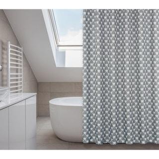 Manhattan Elephant Grey 14 Piece Shower Curtain Set Overstock Shopping Great Deals On