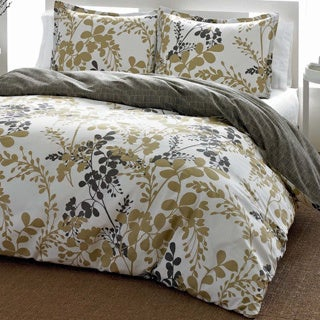 City Scene Sassafras Reversible 3-piece Comforter Set