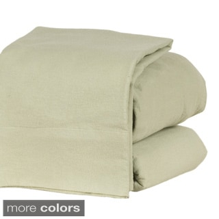 Heavyweight 190GSM Ultra Soft Flannel 4-piece Sheet Set