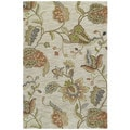 Copia Multi Floral 4x6 Polyester Rug