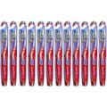 Colgate Wave Zig Zag Comfort Fit Medium Toothbrush (Pack of 12)
