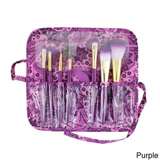 Jacki Design 7-piece Makeup Brush and Case Set