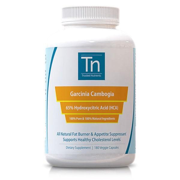 Trusted Nutrients 100% Pure Garcinia Cambogia (180 Capsules)