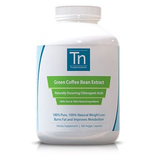 Trusted Nutrients Pure Green Coffee Bean Extract (360 Capsules)