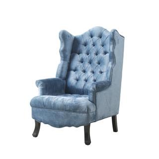 Madison Velvet Wing Chair
