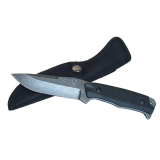 The Bone Edge Series 9-inch Stone Wash Blade Hunting Knife