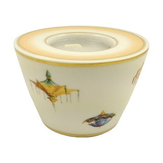 Geobel Porcelain Tea Light Candle Holder Wynn Resort Collection