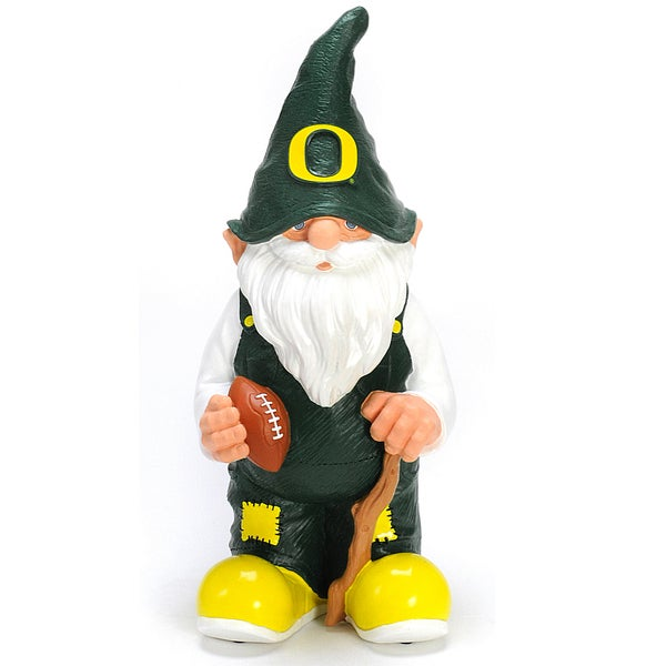 Forever Collectibles NCAA Oregon Ducks 11-inch Garden Gnome