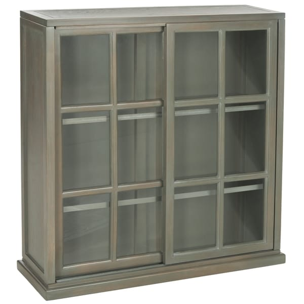 Safavieh Greg Ash Grey Storage Bookcase