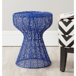 Safavieh Tabitha Dark Blue Iron Chain Stool