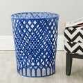 Thor Dark Blue Welded Iron Strips Stool