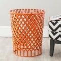 Thor Orange Welded Iron Strips Stool