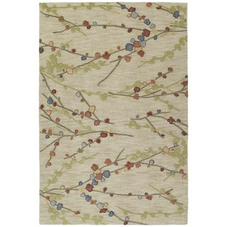 Copia Sand Blossom 2x3 Polyester Rug