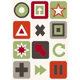 Magic Symbols Rug (5'3 x 7'8)