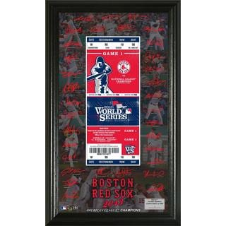 Boston Red Sox 2013 AL Champions World Series Signature Ticket