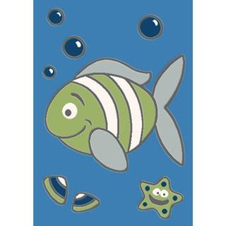 Magic Under the Sea Rug (5'3 x 7'8)