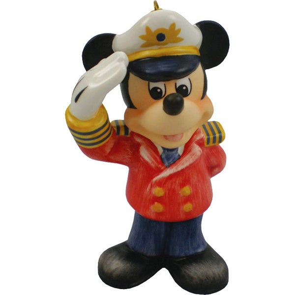 Goebel Mickey Captain Ornament