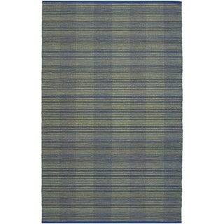 Nature's Elements Water/Ocean Blue Rug (3' x 5')