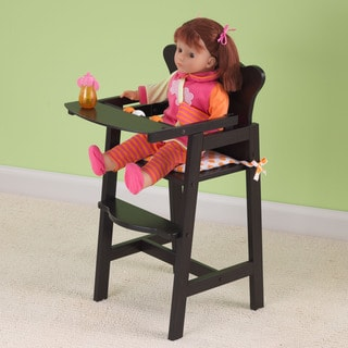 KidKraft Espresso Lil' Doll High Chair