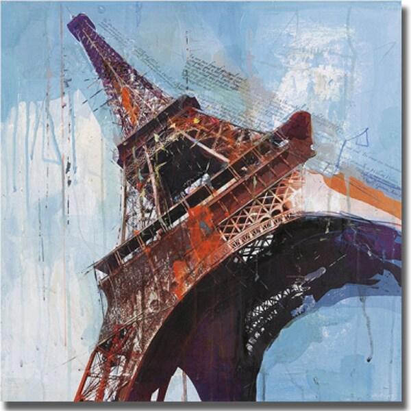 Markus Haub 'Lost in Paris' Canvas Art