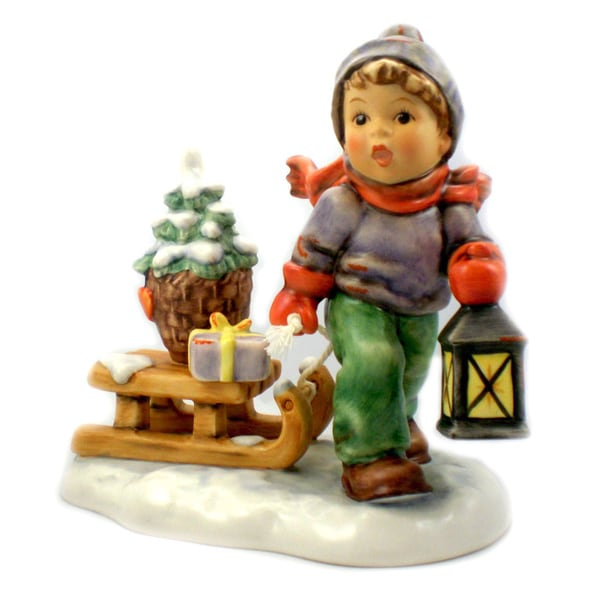 M I Hummel Christmas is Coming Figurine
