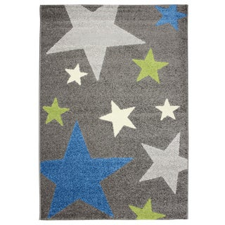 Magic Starry Sky Grey Area Rug (3'11 x 5'7)