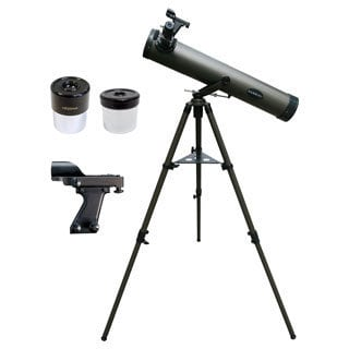 Cassini 800x80 Astronomical Newtonian Reflector Telescope with Red Dot Finder