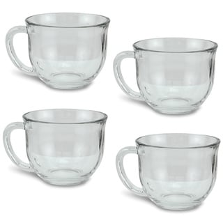 Clear Soup Mug (Set of 4)