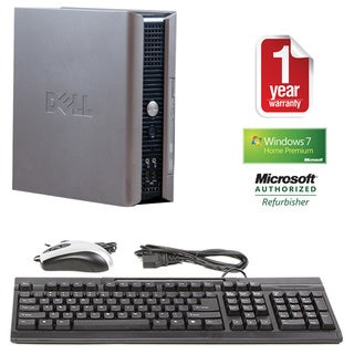 Dell OptiPlex 755 1.6GHz 2GB 80GB Win 7 USFF Computer (Refurbished)