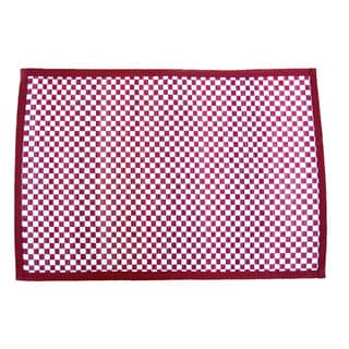 Leaf & Fiber Handwoven Natural Placemat (Set of 4) (India)