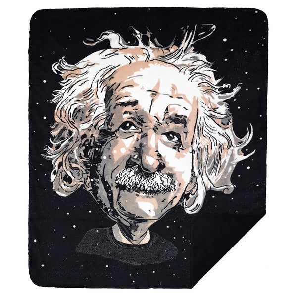 Denali Black Einstein Throw Blanket
