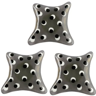 Set of 3 Lalo Treasures Abstract Cabinet Knobs (Bulgaria)