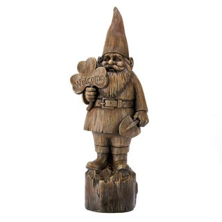 Welcome Gnome Statue