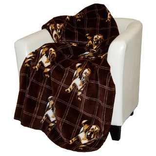 Denali Golden Lab Throw Blanket