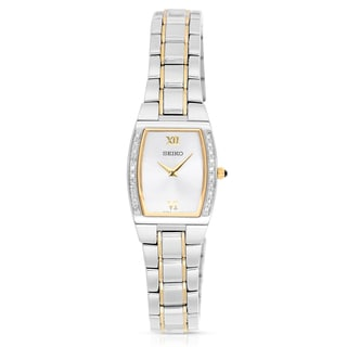 Seiko Women's Diamond Two-tone Watch