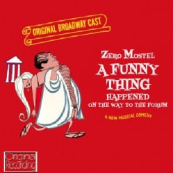 FUNNY THING HAPPENED ON THE WAY TO THE FORUM - SOUNDTRACK