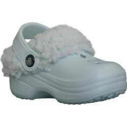 Children's Dawgs FleeceDawgs Fleece-lined Clogs Baby Blue/Baby Blue Fleece