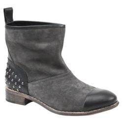 Women's Diba True Rad Ient Dark Grey Suede/Black Leather