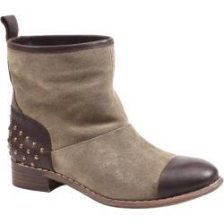 Women's Diba True Rad Ient Taupe Suede/Dark Brown Leather