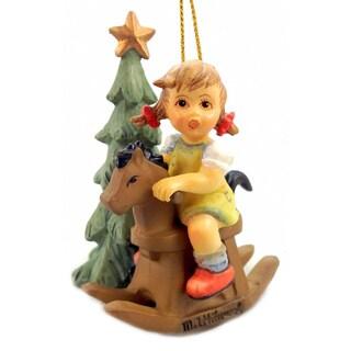 M I Hummel Cowboy Corral Ornament
