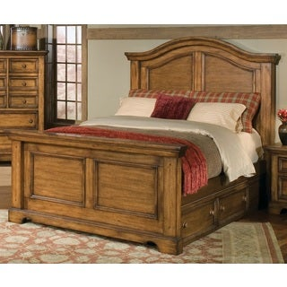Rustic Escape Panel Bed with Optional Underbed Storage