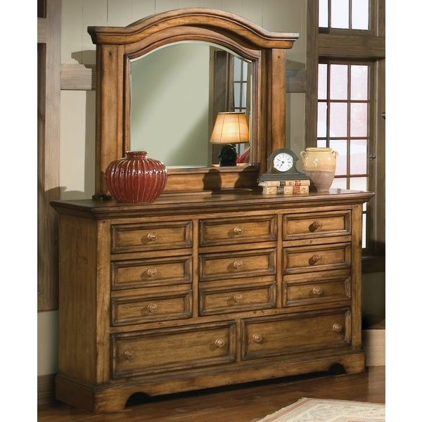 Greyson Living Rustic Escape 8-drawer Dresser and Optional Mirror