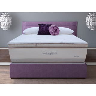 Laura Ashley Blossom Firm King-size Mattress and Foundation Set